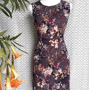 Land's End floral dress, size 4P